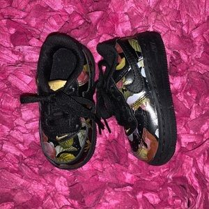Toddler Floral Nike Air Force 1